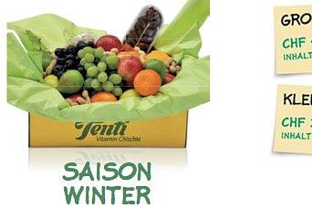 Vitamin-Chischte Saison Winter