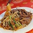 Nouilles/pâte de riz/vermicelles de riz sautées au bœuf