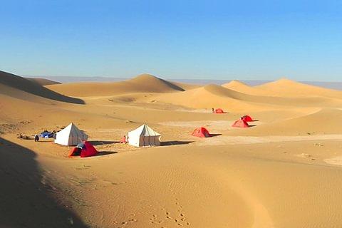 Trekking in Marokko: Wüste pur