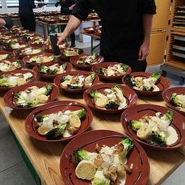 Ceasar Salat Kupferkessel Style