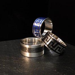Keramik / Silber / Carbon