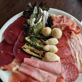Tagliere salumi - La Tavernetta Agno