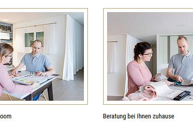 Beratung/Showroom