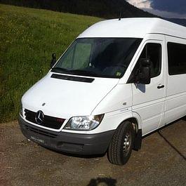 Voyage: minibus de 14 places