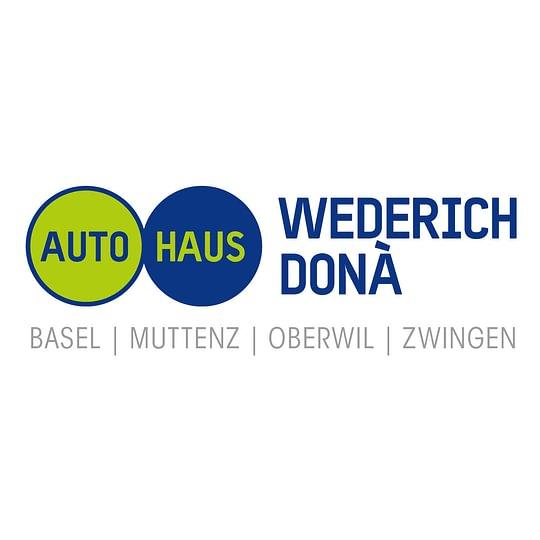 Autohaus Wederich, Donà AG - Basel / Muttenz / Oberwil / Zwingen