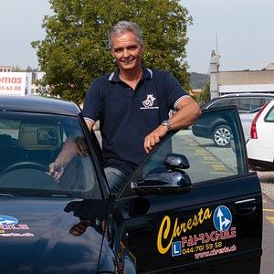 Fahrlehrer Thomas Chresta