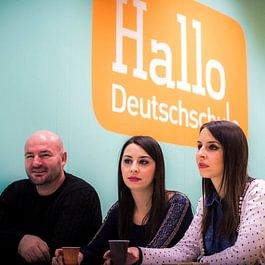 Deutsch lernen und Freunde finden