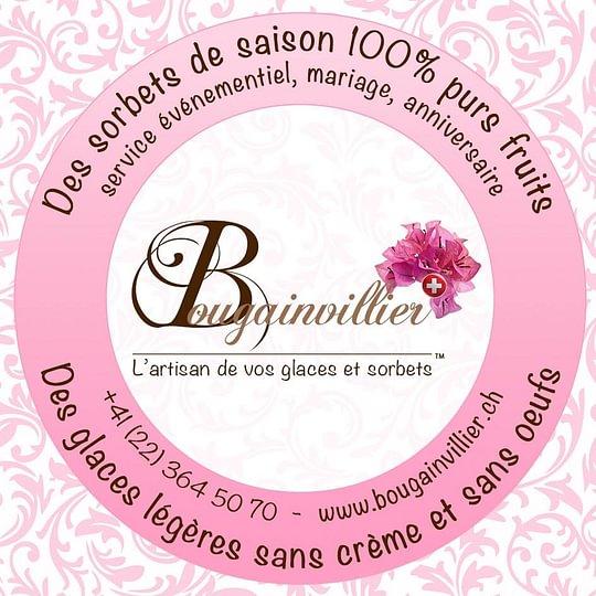 Logo institutionnel des Glaces & Sorbets Bougainvillier