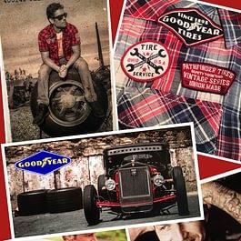Goodyear Bekleidung, Gulf Bekleidung und Schuhe, Warson Motors bei Bern