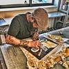 Publicity Shop - Panneau en peinture à la main