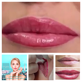 Maquillage permanent lèvres Candy lips dégradé et estompage