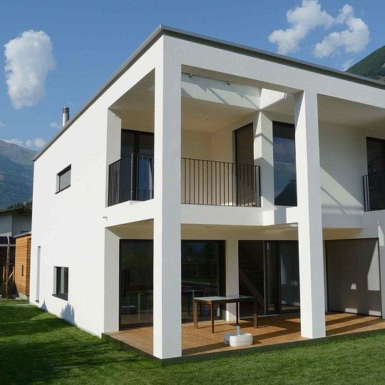 Casa in legno a Biasca - Minergie A