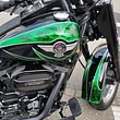 Wassertransferdruck, Motorrad, Gundeli-Carrosserie AG, Reinach