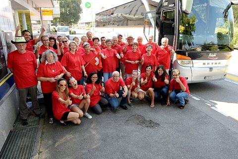 Bus mieten für Gruppen