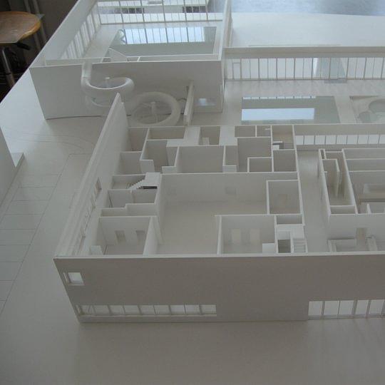 Architekturmodell 1:100