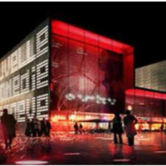 """Salle de spectacle """"Nouvelle Comédie"""" à Genève - en cours"""