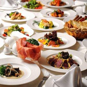 Servierter Tisch