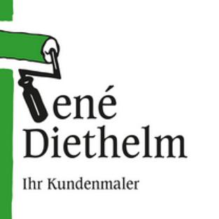 Logo, Malergeschäft Diethelm René, Oberriet SG