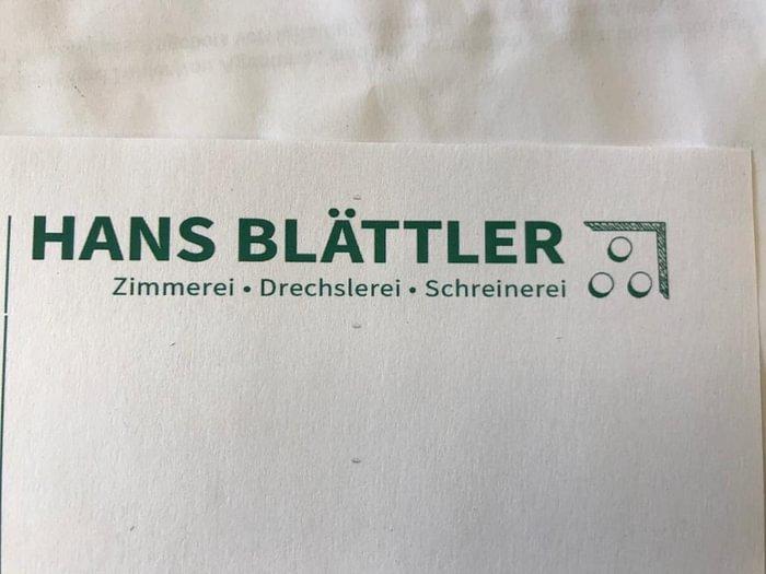 Blättler Hans
