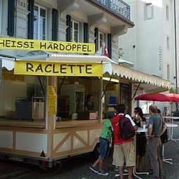 Raclette-Wagen