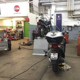 Atelier 2 roues - vélomoteur -moto- scooter - garage de la croix- lutry
