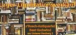 Lager-Liquidation des Bücherantiquariats