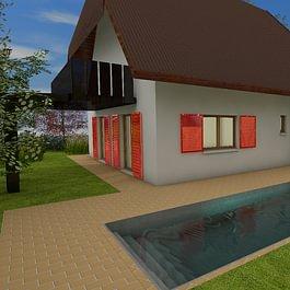 Wohnhaus Swimmingpool Bäriswil