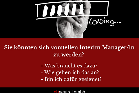 Mit Interim Management eine neue Karriere planen?