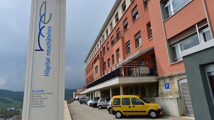 Hôpital Neuchâtelois Le Locle - Réception