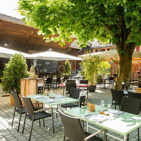 Restaurant Satteltasche