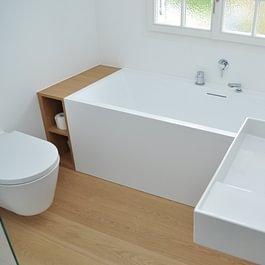 Sanierung Badezimmer, Einfamilienhaus in Breitenbach