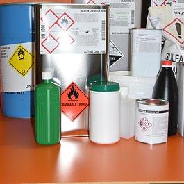 un large choix de produits chimiques