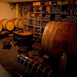Vins rouge vinifié en barrique
