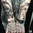 Réalisé par El Russo à Next 2 Tattoo