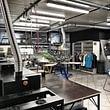 Le secteur impression textile de Publicity Shop à Semsales