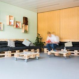 Feusi Bildungszentrum Standort Solothurn, Sitzecke