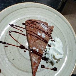 torta cioccolato fondente e noci