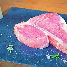 Eine Portion Lebensfreude aus der Ochsen-Metzgerei: T-Bone Steak