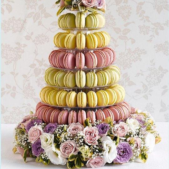 Pyramide macarons pour vos événements