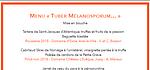 "Le Menu "" TUBER MELANOSPORUM... """