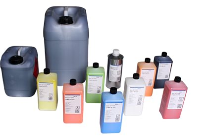 REA JET Verbrauchsmittel wie Kartuschen, Tinten, Farben, Primer und Bio Cleaner