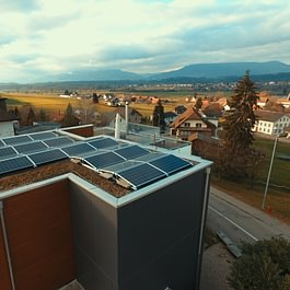 Solaranlage Wynau