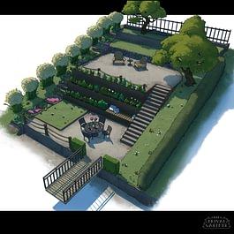 Planung Sitzplatz