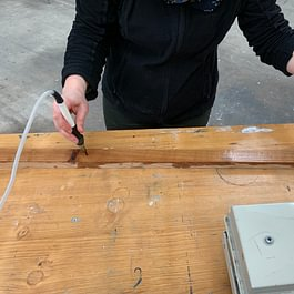 Holzschnitzerei Nume Entescht