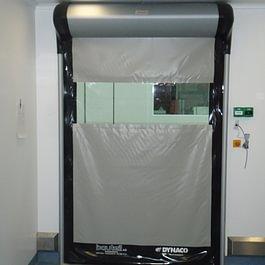 Schnelllaufrolltor Typ Cleanroom