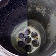 Oelheizung vor- und nach der Reinigung
