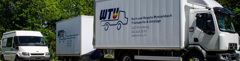 WTU Wyssenbach & Co. Transporte & Umzüge