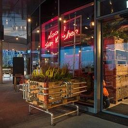 """Aussenbegrünung """"Restaurant Nooch"""" Ebikon"""