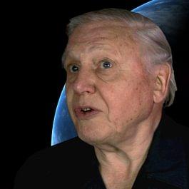 Interview du célèbre réalisateur David Attenborough de la BBC à Londre