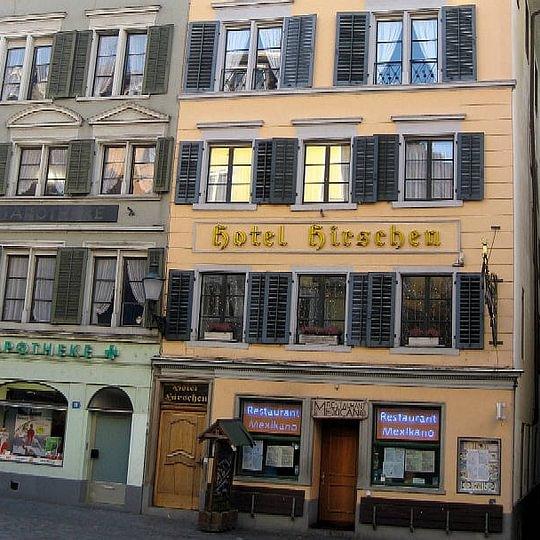 Hotel Hirschen am Hirschenplatz, im Herzen des Niederdorfes